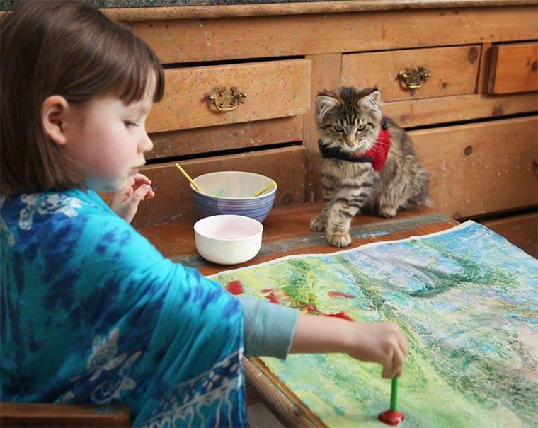 Geniale Malereien einer 5-jährigen Autistin Iris-Grace_01