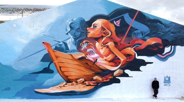 Street Art: Isaac Mahow