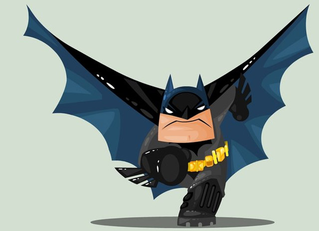 Illustration: Süße Superhelden