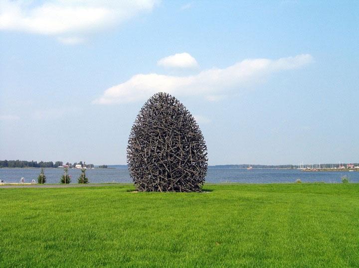 Holzskulpturen: Jaakko Pernu