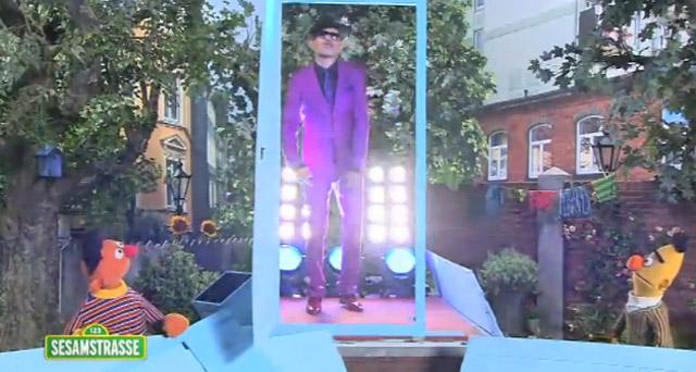 Jan Delay in der Sesamstraße