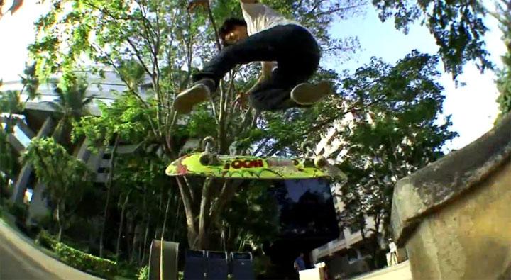 Jason Park Skateboarding