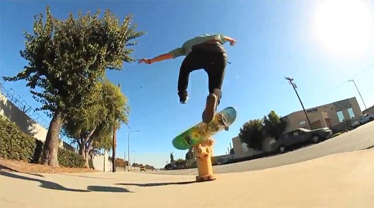 Skateboarding: Jason Park