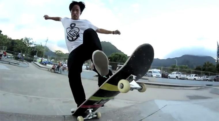 Neuer Skateboard-Part von Jason Park