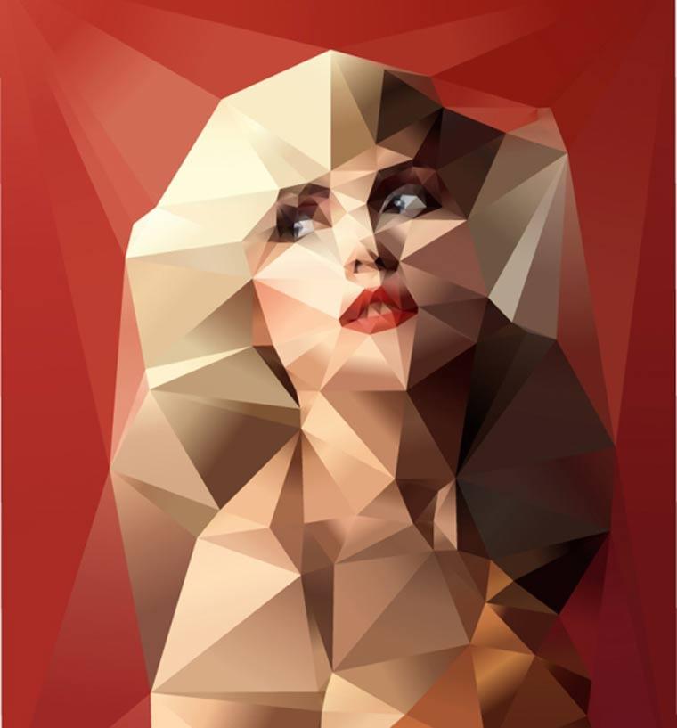 geometrische Portraits: Johnathan Puckey