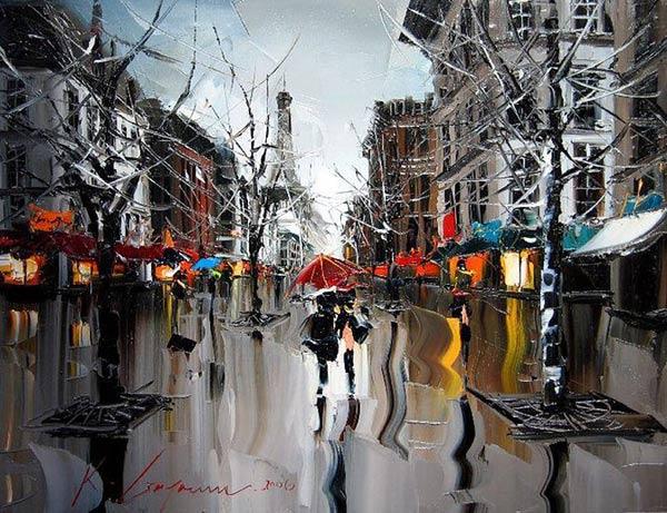 Fantastische Malerei von Kal Gajoum