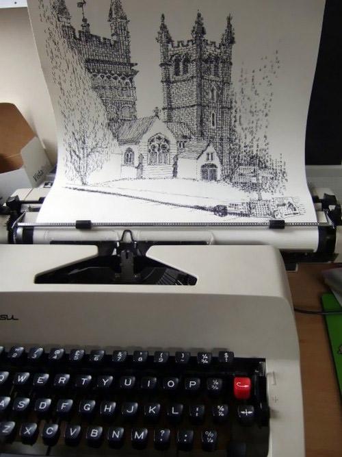 Schreibmaschinenkunst: Keira Rathbone