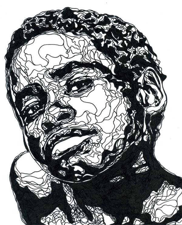Papierschnittillustration: Kris Trappeniers