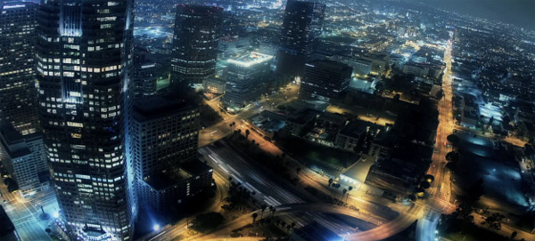 Nacht-Timelapse: L.A. Light