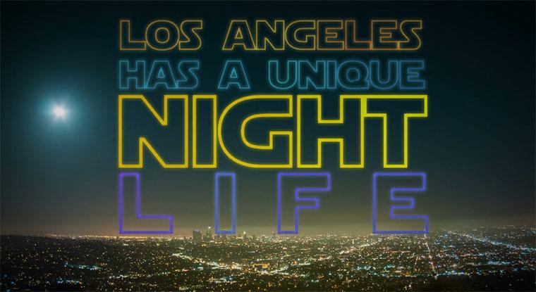 Los Angeles Night Life Hyperlapse