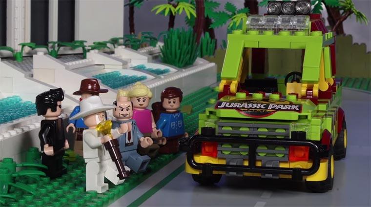 Jurassic LEGO LEGO-Jurassic-Park