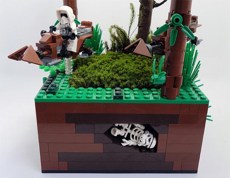 LEGO-Blumentöpfe