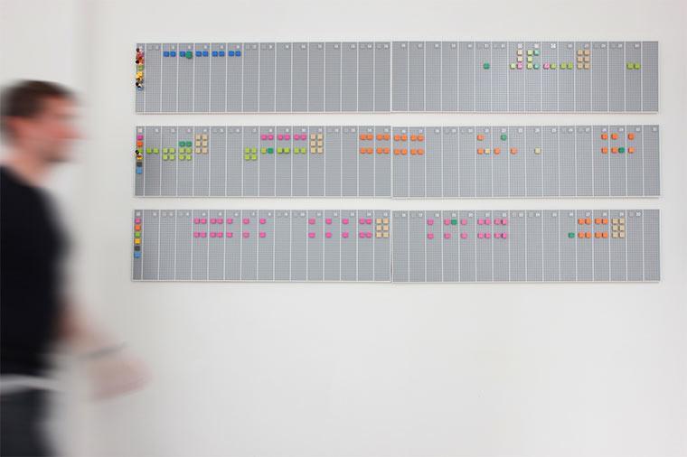 LEGO-Wandkalender
