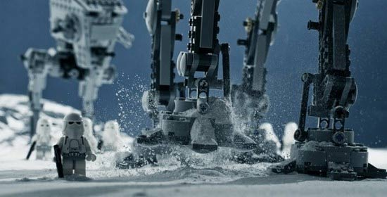 Awesome Star Wars LEGO-Fotografien