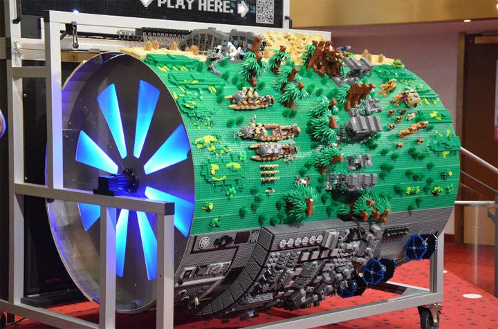 20.000 LEGO-Steine spielen Star Wars Theme
