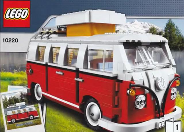 Timelapse: Aufbau eines LEGO VW Campers