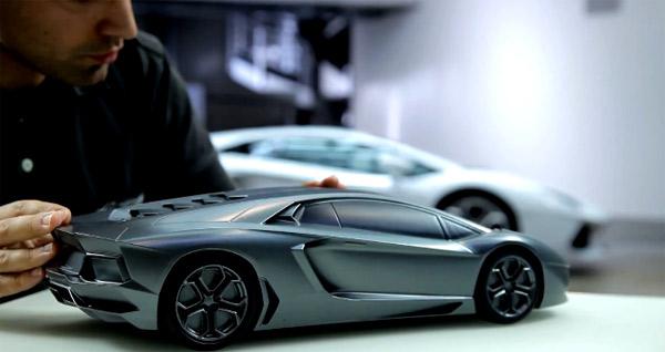 Wie ein Lamborghini gemacht wird