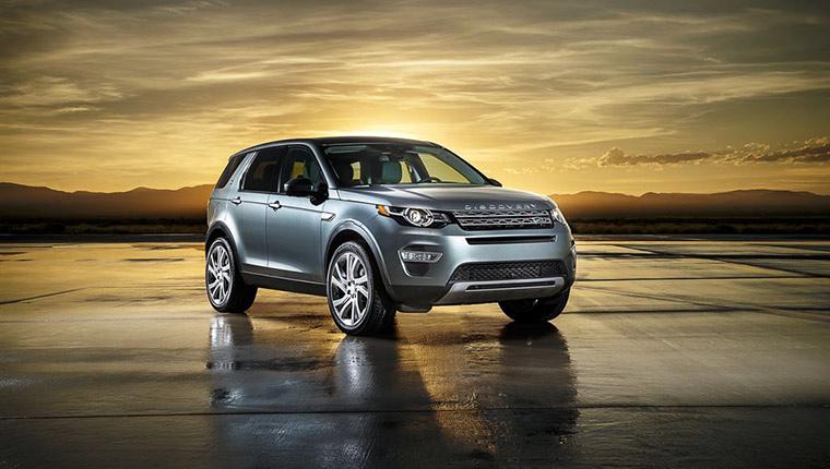 Launch des neuen Discovery Sport
