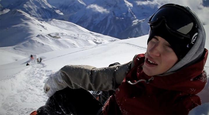 Snowboardfilm Levity komplett online