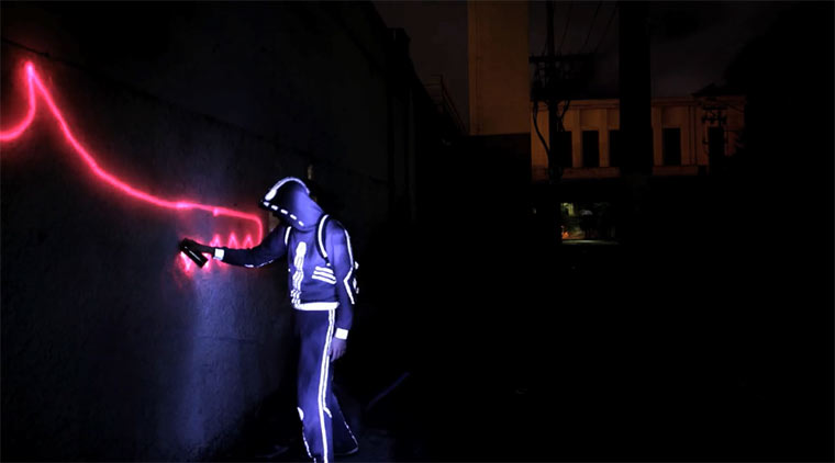#: Stopmotion-Licht-Graffiti