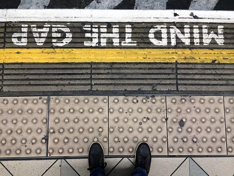 Ich war ein paar Tage in London