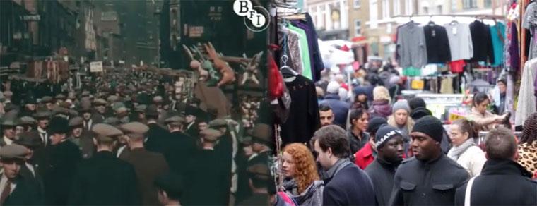 London: 1927 & 2013 im Vergleich