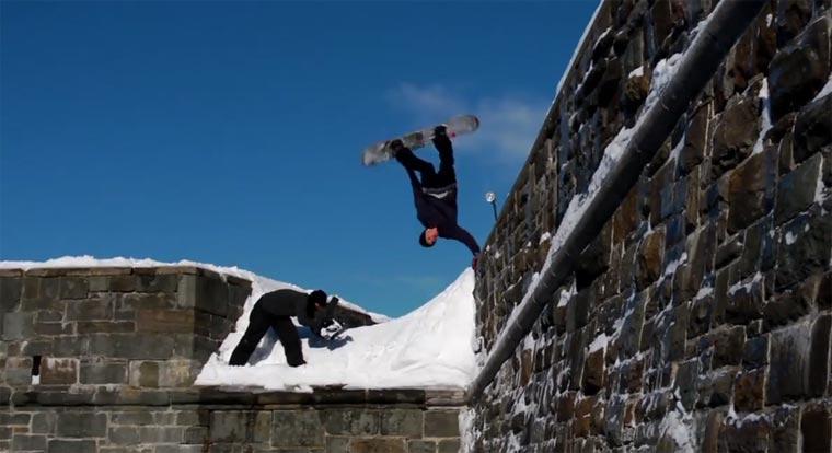 Snowboarding: Louif Paradis