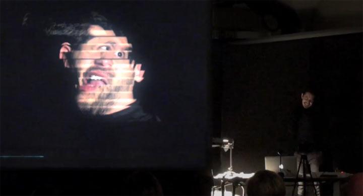 Video-Effekt Liveshow von Luis Nieto