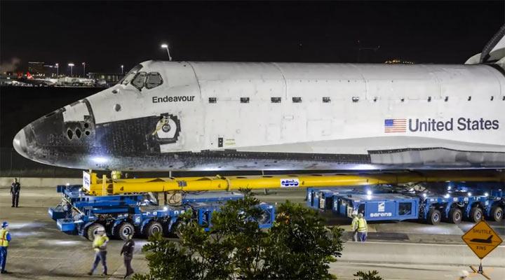 Timelapse: Letzte Space-Shuttle-Fahrt