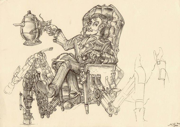 Zeichnungen: Marcomatic Marcomatic_09