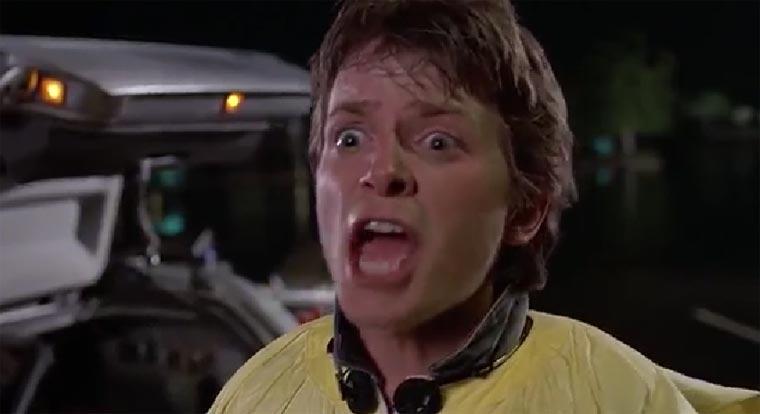 Supercut: Marty McFly Screaming