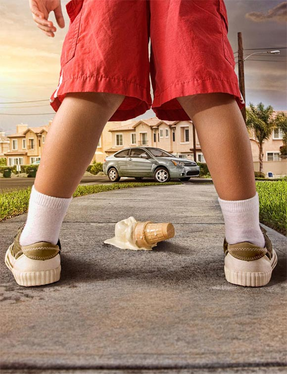 Kreative Werbefotos: Mauricio Candela