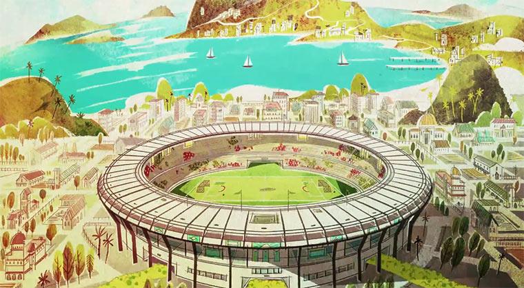 Mickey Mouse bei der Fußball-WM