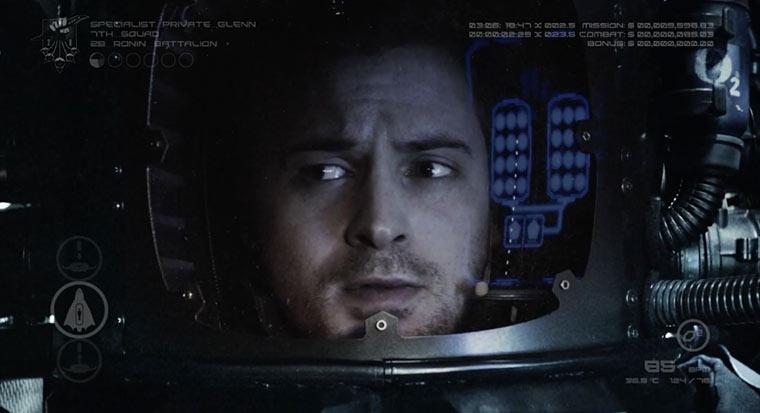 Kurzfilm zeigt nur Protagonisten-Gesicht