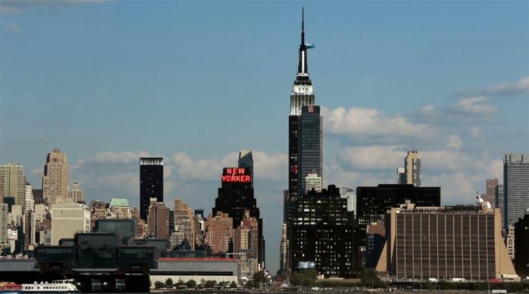 Video: New York bei Tag und Nacht gleichzeitig