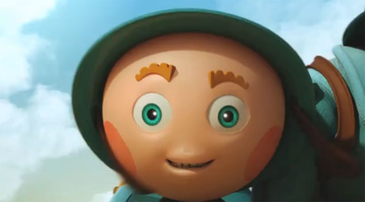 Not To Scale – Character Animation Reel 2011
