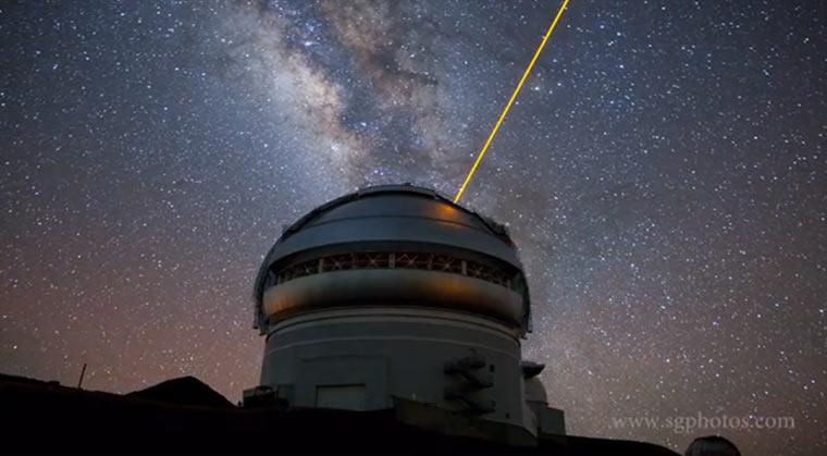 Observatorium-Timelapse
