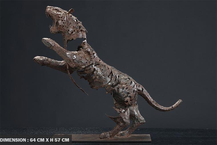 Verschwindende Tier-Skultpuren Pascal-Chesneau_07