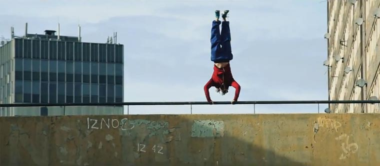 Peter Parkour – im Freerun durch London