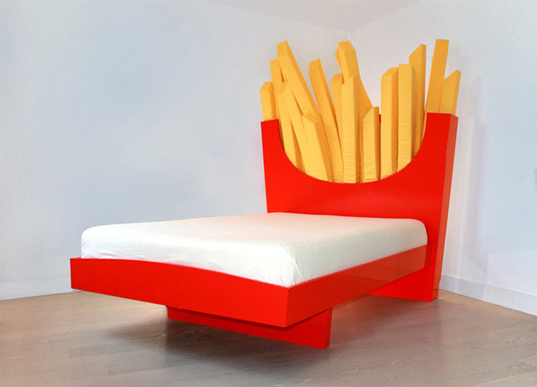 Das Pommes-Bett