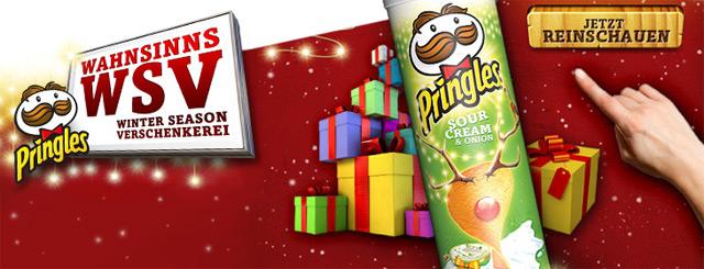 Pringles Wahnsinns-Winter-Season-Verschenkerei