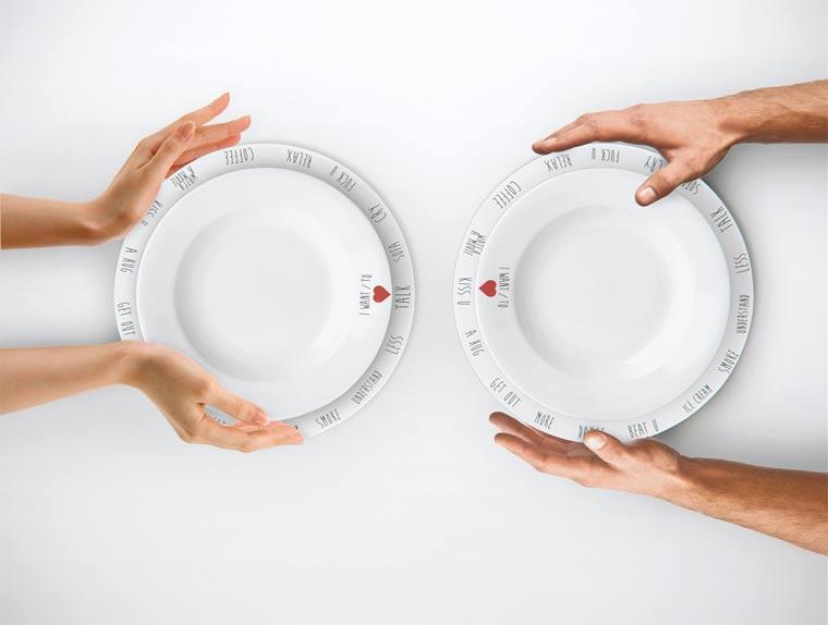 Gegen Langeweile am Essenstisch: Purpose Plates
