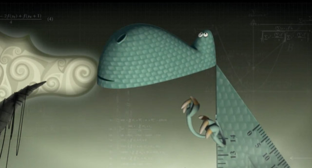 Lovely Animated Short: Pythagasaurus