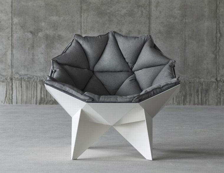 Stylischer Sessel: Q1 Lounge