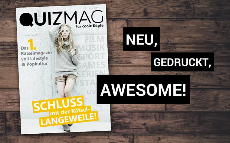 QUIZmag – jetzt unterstützen!