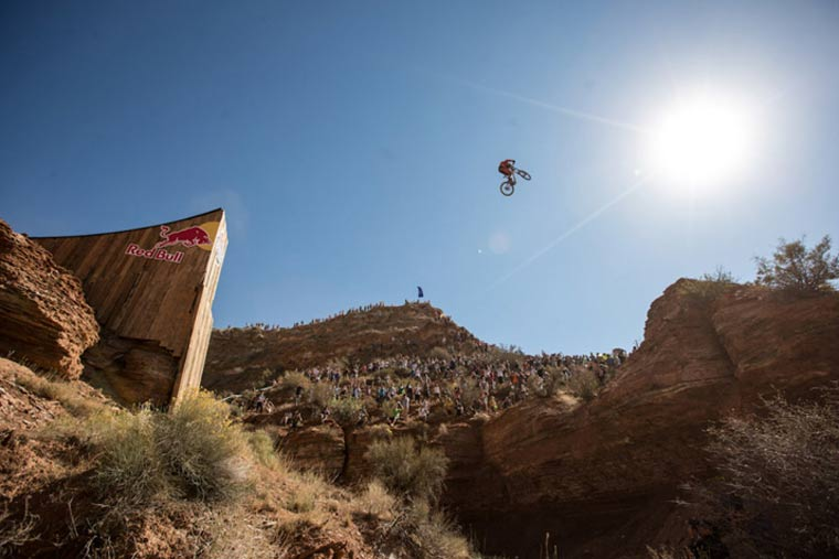 Rampage 2012 –  Mountainbike-Wüsten-Madness