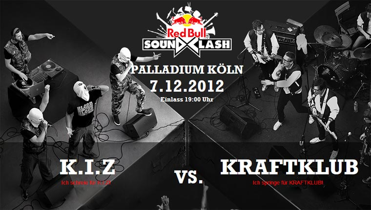 Red Bull Soundclash 2012: K.I.Z vs. Kraftklub