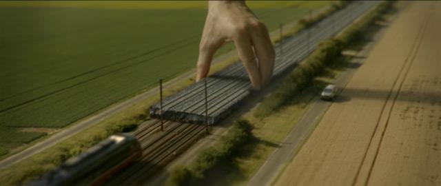 Französischer Fernverkehr Tilt-Shifted