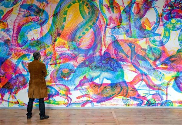 Cool: die RGB-Ausstellung