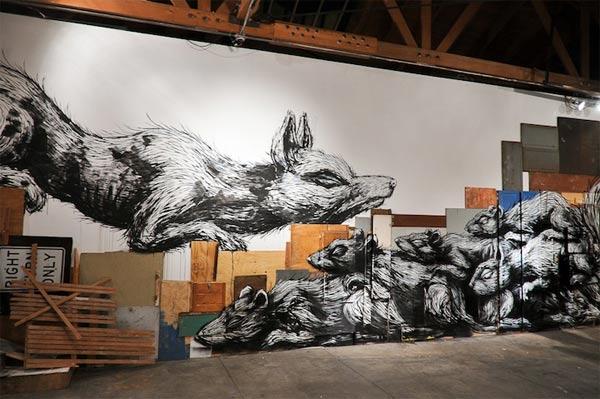 Street Art: ROA